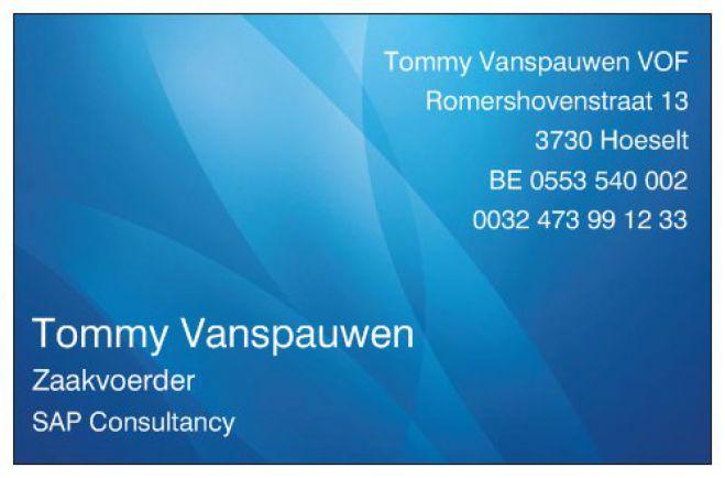 Tommy Vanspauwen